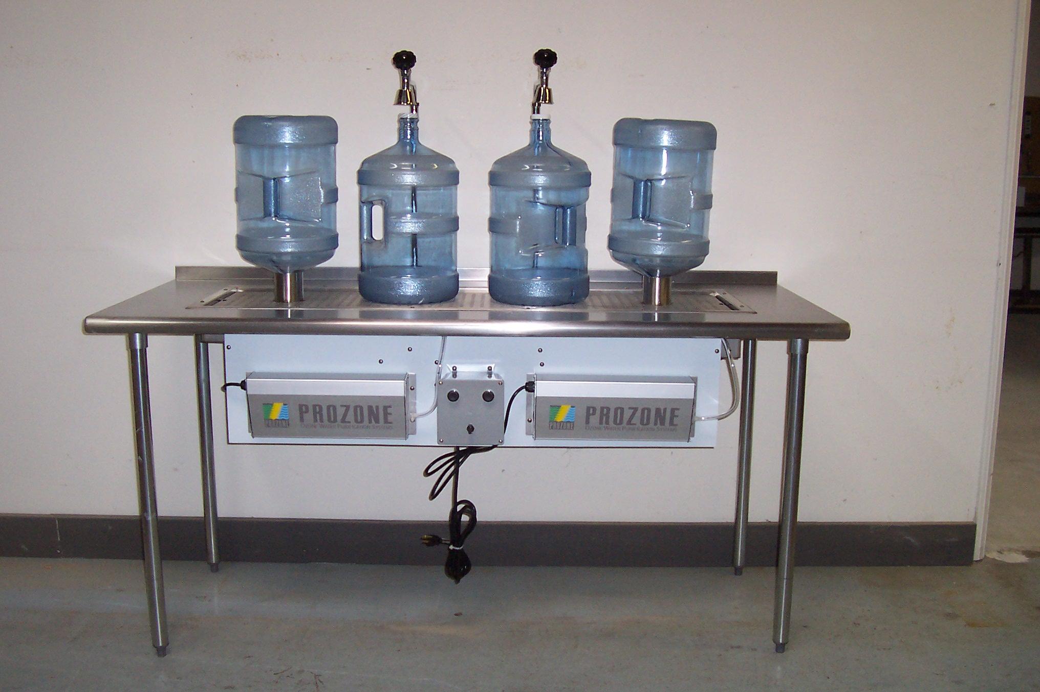 Water Bottle Filling Station Rinse Amp Fill Water Bottler