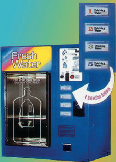 Window Vend Water Vending Machine Wb Usa